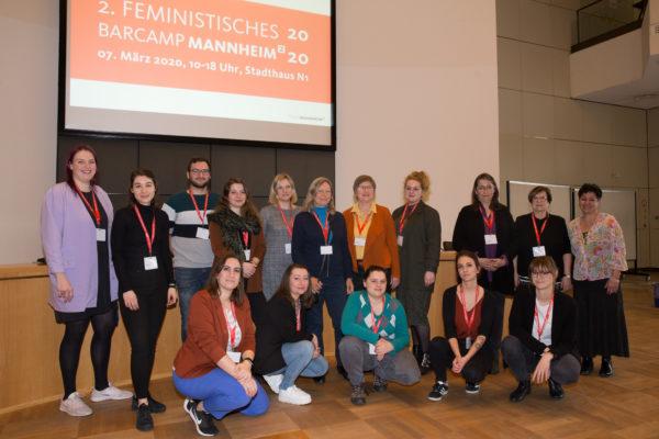 Fotorückblick vom 2. Feministisches Barcamp Mannheim 2020